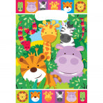 8 Sachets anniversaire Jungle