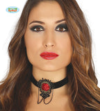 Bijoux collier ruby