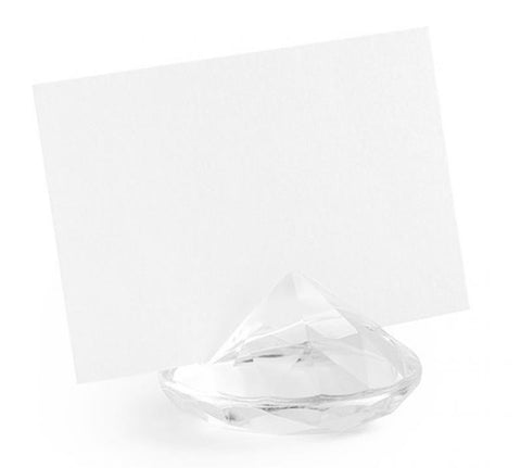 10 portes nom diamants - transparent