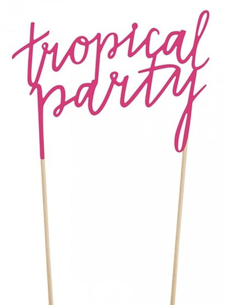 pic tropical party 24 cm