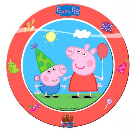 Table & jetable 8 assiettes peppa pig 23 cm - 12 - Vivafiesta