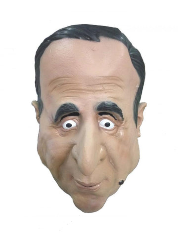 masque francois hollande latex