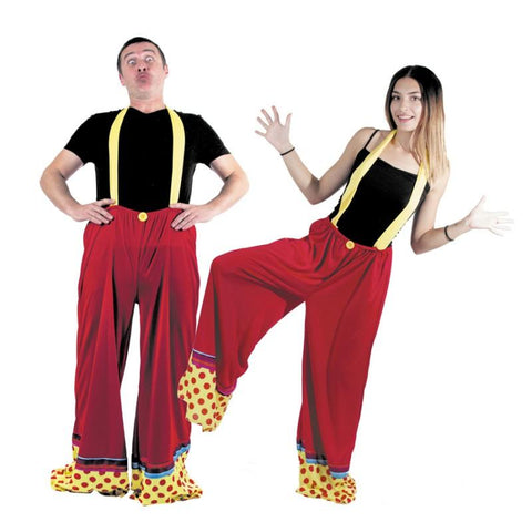déguisement pantalon clown adulte