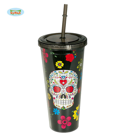 verre mexicain day of the dead