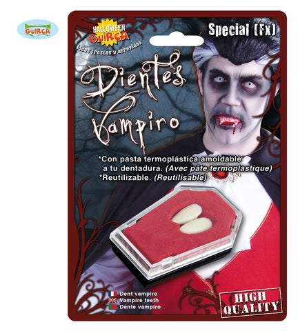 2 Dents vampire thermoplastique