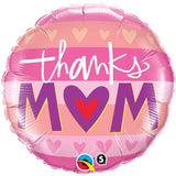 Ballon alu thanks mum 45 cm