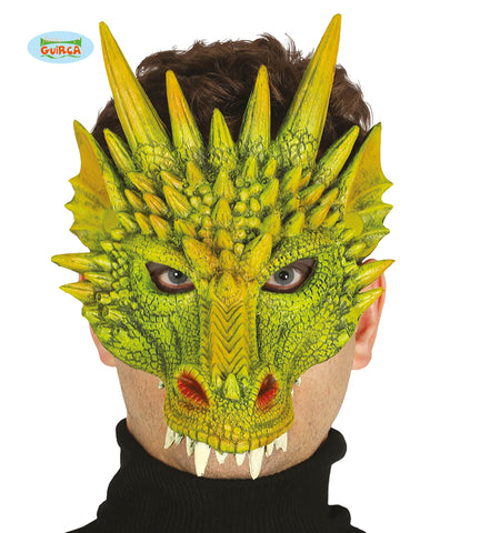 masque demi mousse dragon