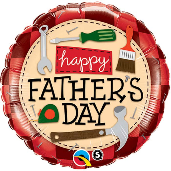 Ballon alu father's day 45 cm