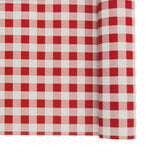Nappe Vichy 25m - rouge/blanc