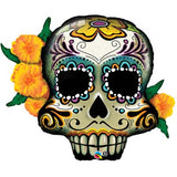 Ballon alu day of the dead 81 cm