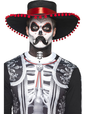maquillage kit day of the dead homme
