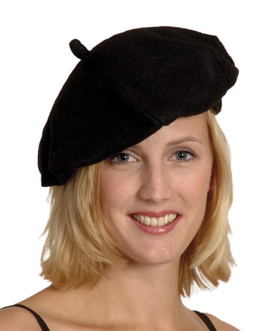 beret basque noir