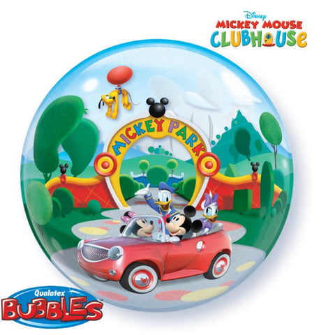 Décoration 1 bubble mickey clubhouse - Vivafiesta