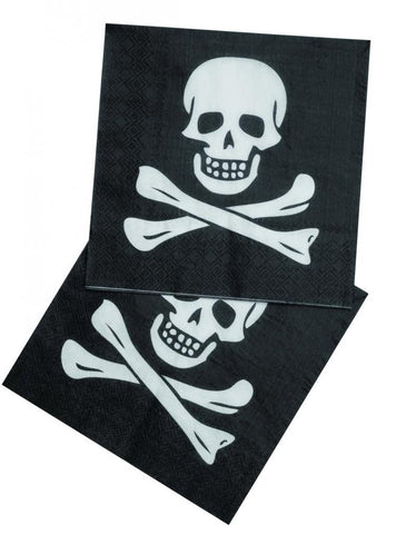 Table & jetable serviettes pirate par 12 - Vivafiesta