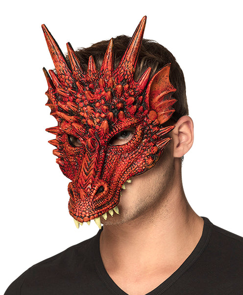 Demi-masque mousse Dragon