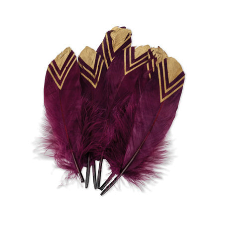 Plumes marsala/or