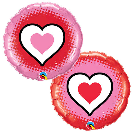 Ballon only hearts