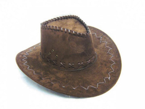 chapeau cowboy buffalon marron