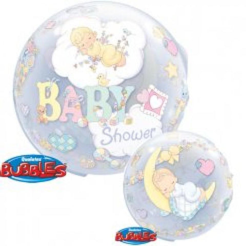 1 bubble baby shower