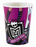 Gobelets monster high par 8