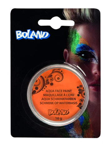 Accessoire pot maquillage aqua orange 16 gr - Vivafiesta