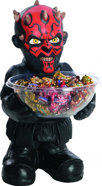Décoration pot à bonbons avec support darth maul - Vivafiesta