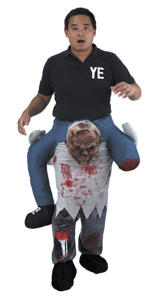 Déguisement zombie carry me adulte