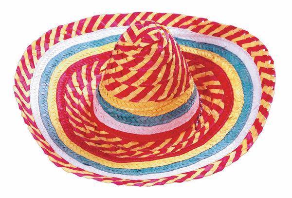 chapeau mexicain multicolore
