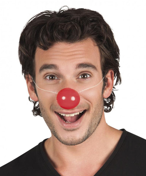 6 nez de clown plastique