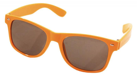 lunette blues orange fluo