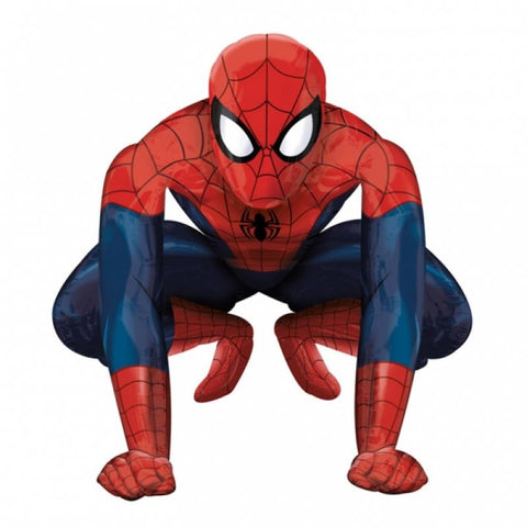 Ballon aluminium marcheur spiderman 91 cm