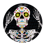 Assiettes day of the dead par 6