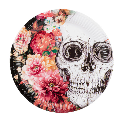 16 assiettes Day of the Dead