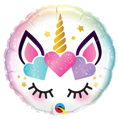 Ballon alu Licorne Eyes