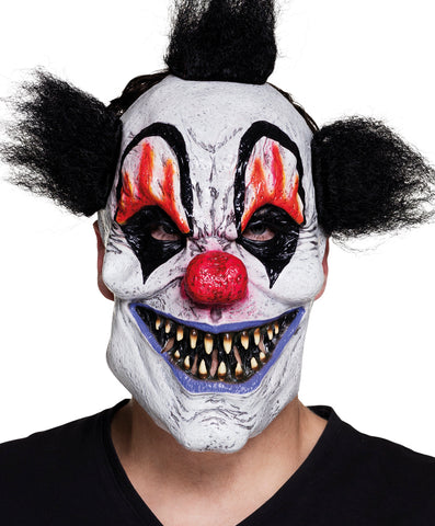 Masque clown noir
