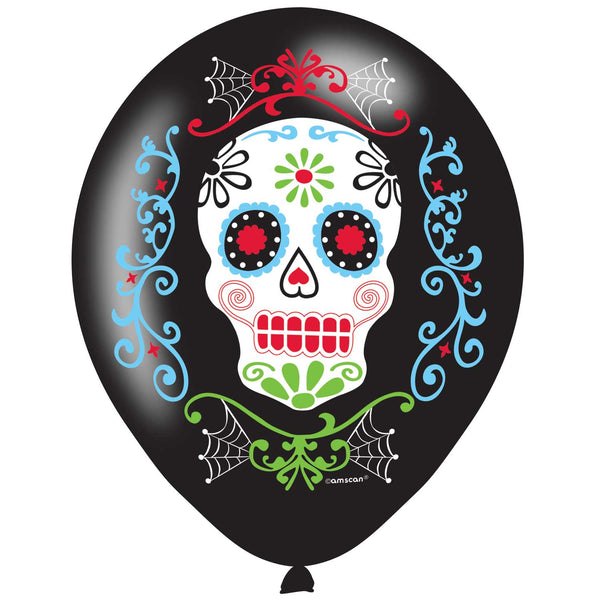 Ballons day of the dead par 6
