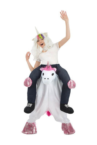 Déguisement licorne carry me adulte
