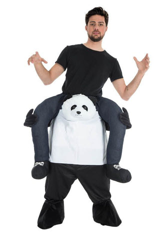 Déguisement panda carry me adulte