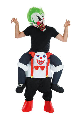 Déguisement clown malveillant carry me