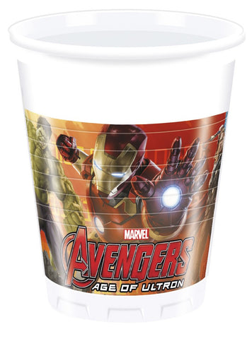 Table & jetable 6 gobelets avengers age of ultron - Vivafiesta