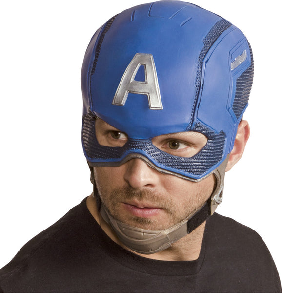 casque captain america adulte