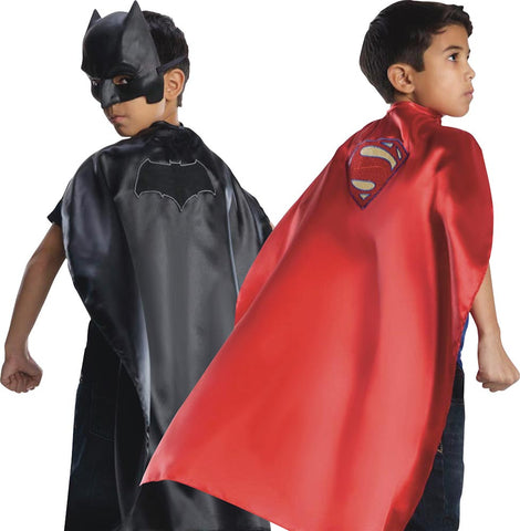 Cape réversible Batman/Superman Justice League