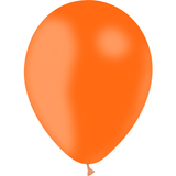 100 ballons latex biodégradable - orange