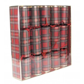 5 Crackers tartan & or