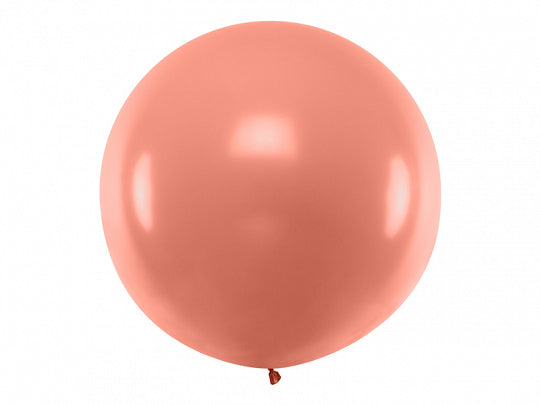 Ballon rose-gold 1m