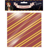 12 Serviettes Harry Potter