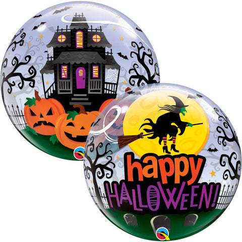 Ballon bubble Happy Halloween
