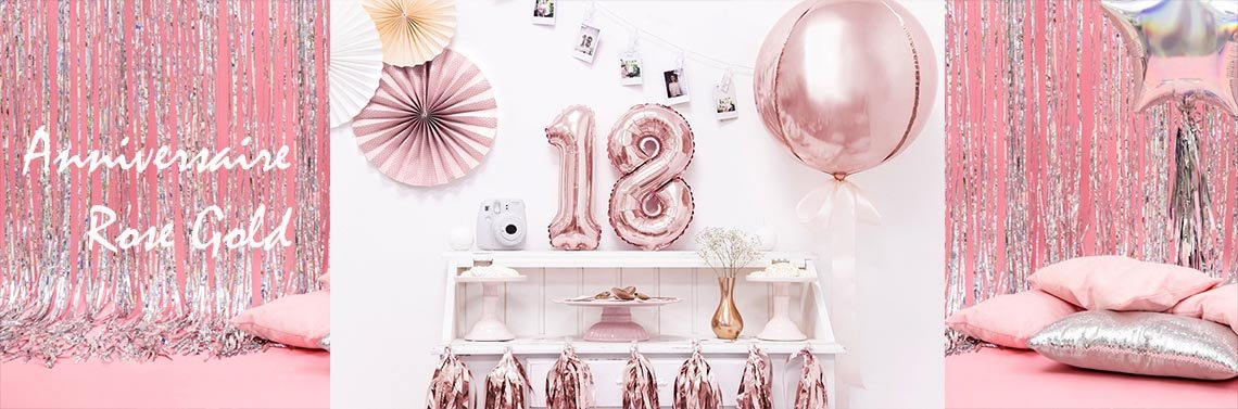Anniversaire rose gold