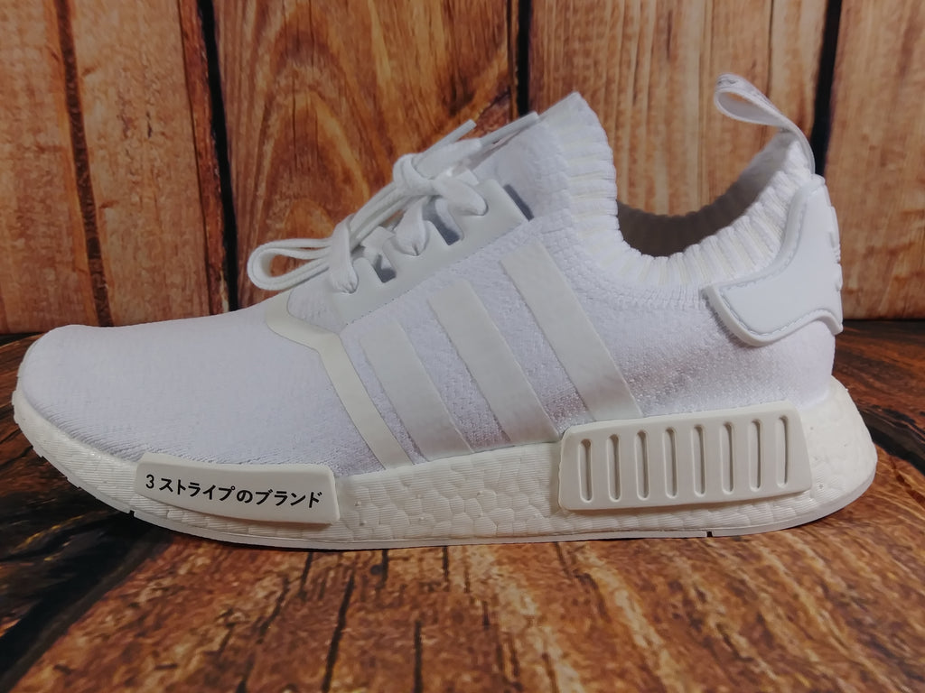 "newest 27de9 a7879 Adidas NMD R1 Primeknit ""Triple White"" Japan Pack – CrazyKickz"