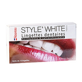 Teeth Whitening Wipes Strips STYLE' WHITE